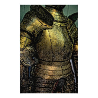Armor of Medieval Knight Stationery