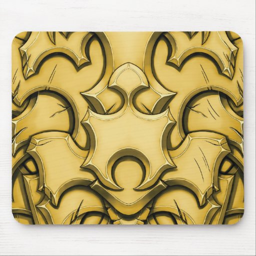 Armored (Brass) Mouse Pads