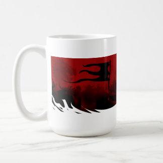 Armored Host Classic White Coffee Mug