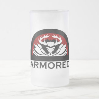 Armored logo mug