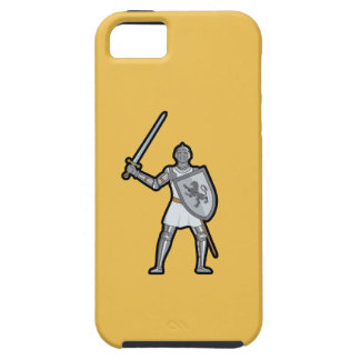 Armored Medieval Knight iPhone 5/5S Case