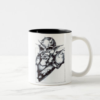 Armored Orc Two-Tone Coffee Mug