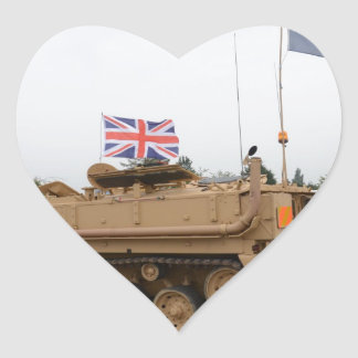 Armored Personnel Carrier Heart Sticker