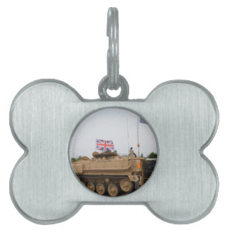Armored Personnel Carrier Pet Name Tags