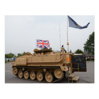 Armored Personnel Carrier Postcard