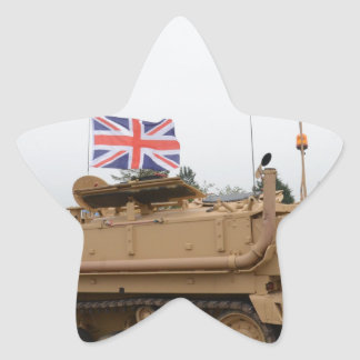 Armored Personnel Carrier Star Sticker