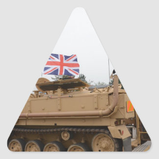 Armored Personnel Carrier Triangle Sticker