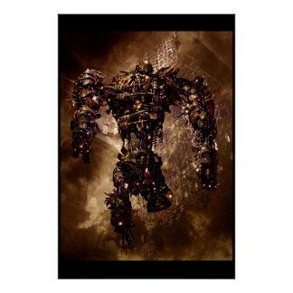Armored roudou cyclops poster