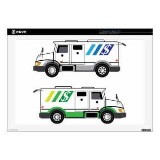 Armored security Vehicle Decal For Laptop