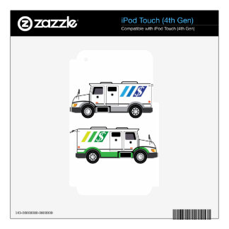 Armored security Vehicle iPod Touch 4G Decal