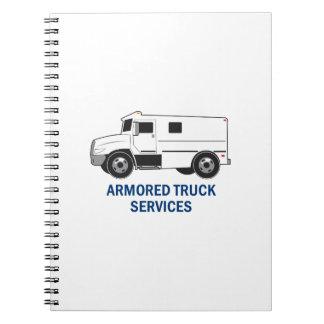 Armored Truck Company Libros De Apuntes