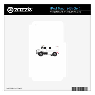Armored Truck Decal For iPod Touch 4G