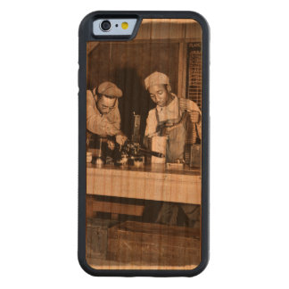Armorers Checking Weapons Carved Cherry iPhone 6 Bumper Case