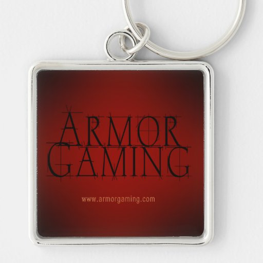 ArmorGaming Red Keychain