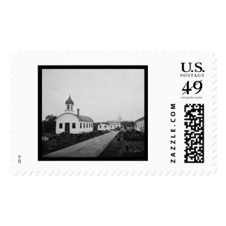 Armory Square Hospital & US Capitol 1865 Stamp