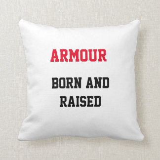 Armour Born and Raised Pillow