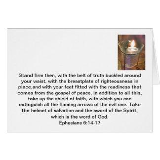 Armour Of God Card