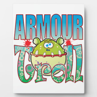 Armour Troll Display Plaque