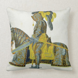 Armour worn by Electorate Christian I, plate from Throw Pillow