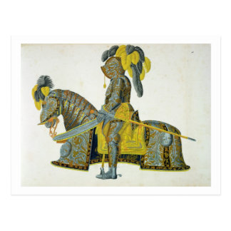 Armour worn by Electorate Christian I, plate from Post Cards