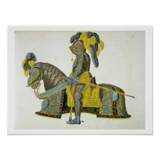 Armour worn by Electorate Christian I, plate from Poster