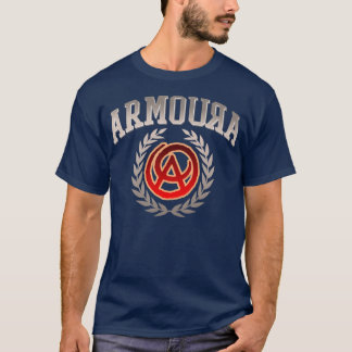 Armoura Silver Athletic T-shirt