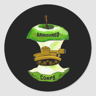 ARMOURED CORE CLASSIC ROUND STICKER