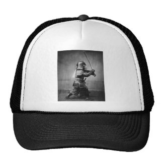 Armoured Samurai with Sword and Dagger in 1860 Trucker Hat