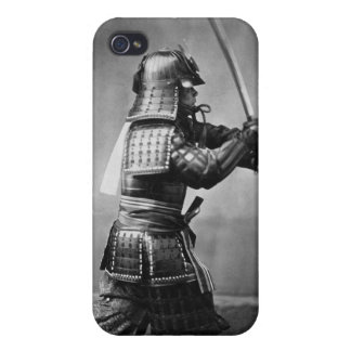 Armoured Samurai with Sword and Dagger in 1860 iPhone 4/4S Cases