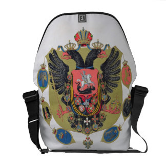 Arms and shield of the state of Imperial Russia, f Messenger Bags