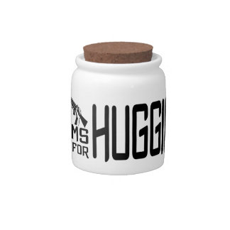 Arms Are For Hugging candy jars