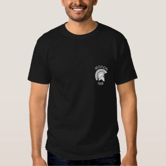 Arms discourage invaders t-shirt