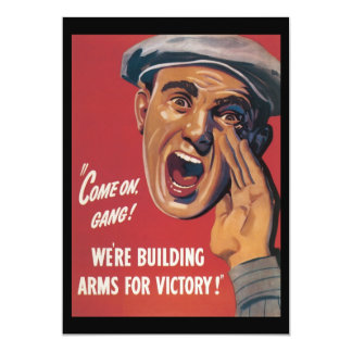 Arms For Victory World War 2 Card