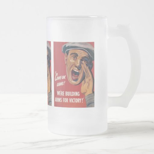 Arms For Victory World War 2 Mugs