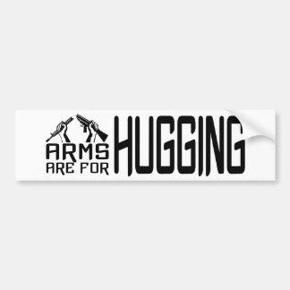 Arms Hug bumpersticker Bumper Sticker