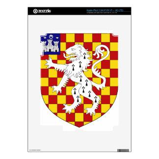 Arms_of_Baron_Abinger Pegatina Skin Para iPad 3
