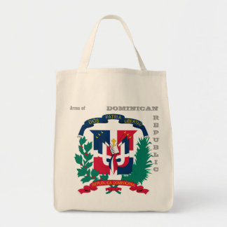 Arms of DOMINICAN REPUBLIC Canvas Bags