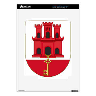 Arms_of_Gibraltar_(Variant) iPad 2 Skin