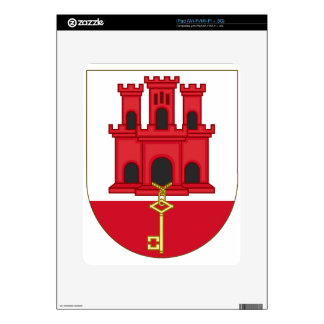 Arms_of_Gibraltar_(Variant) iPad Skin