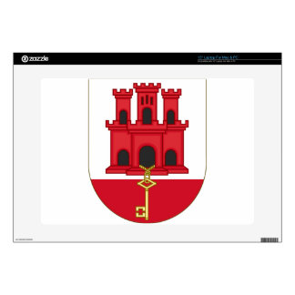 Arms_of_Gibraltar_(Variant) Skin For Laptop