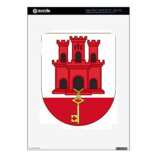 Arms_of_Gibraltar_ (variante) iPad 3 Skins