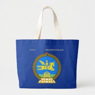 Arms of MONGOLIA Large Tote Bag