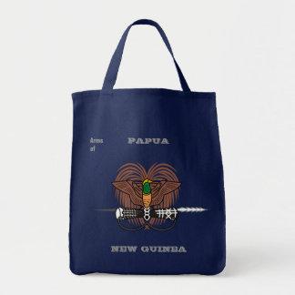 Arms of PAPUA NEW GUINEA Tote Bag