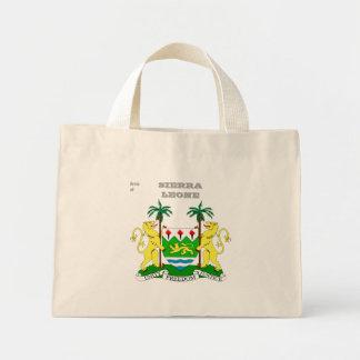Arms of SIERRA LEONE Mini Tote Bag