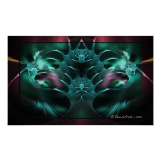 Arms of Sorrow Fractal Poster