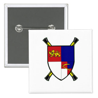 Arms_of_the_Lord_Marshal Pin Cuadrada 5 Cm