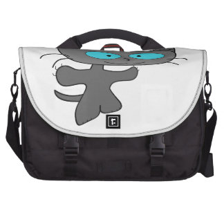 Arms Out Wide Cat Laptop Computer Bag
