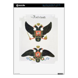 Arms the state of Imperial Russia, from a collecti iPad 3 Decals