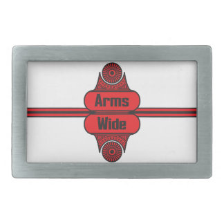 Arms Wide Belt Buckle