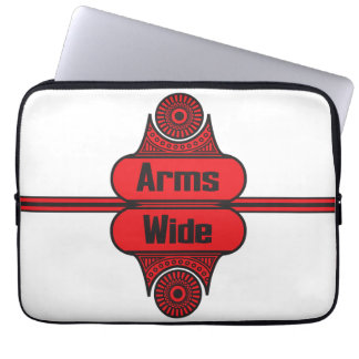 Arms Wide Laptop Computer Sleeve